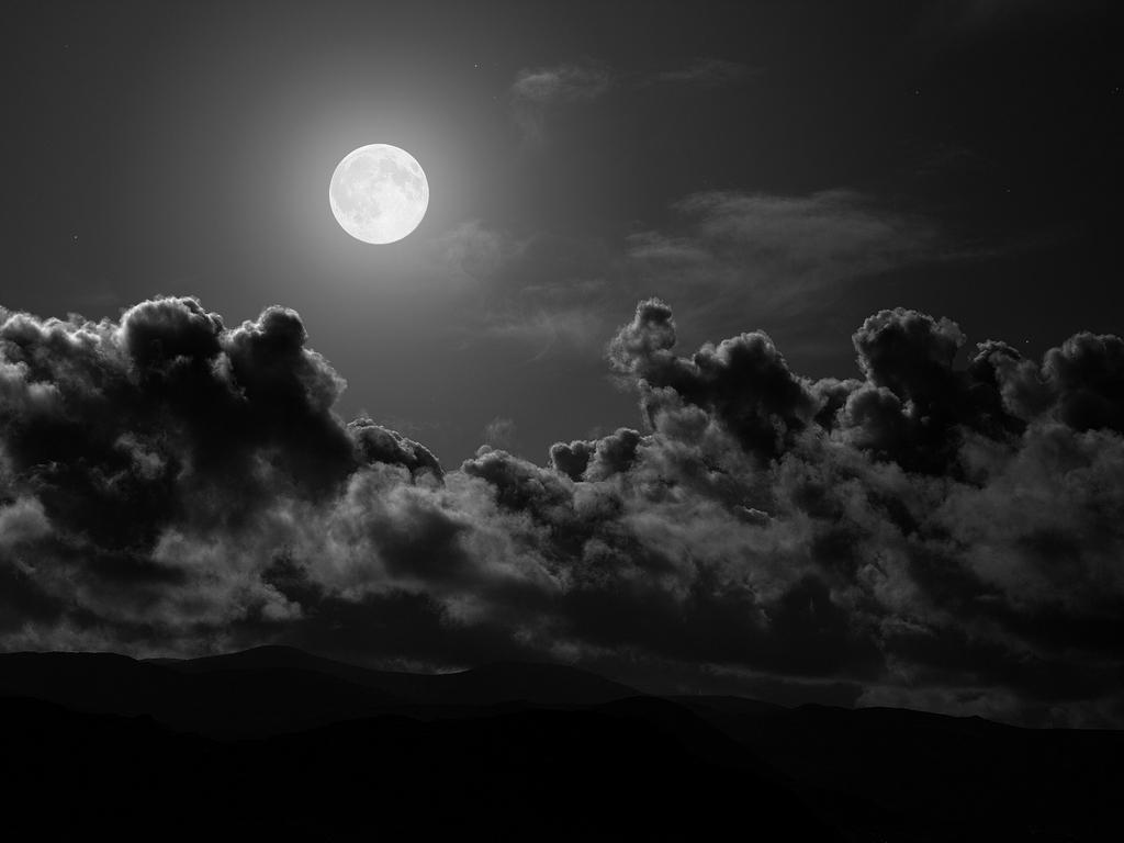 el coqueteo de la luna